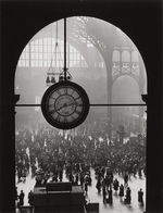 ALFRED EISENSTAEDT (American, 1898-1995) Farewell to Servicemen, Pennsylvania Station, New York City, 1943 Gelatin silver, 1991