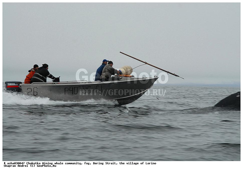из чукотки на аляску на лодке