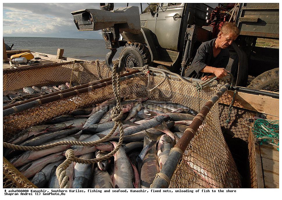 рыбаки курильские острова