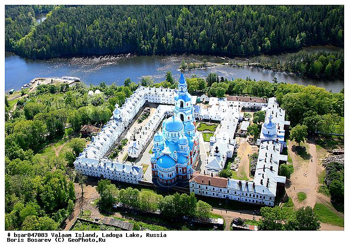 остров монастырь валаам фото