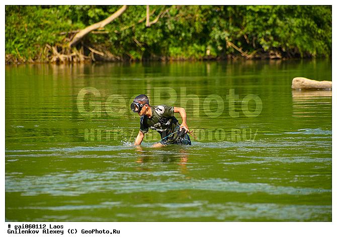 лаос рыбалка