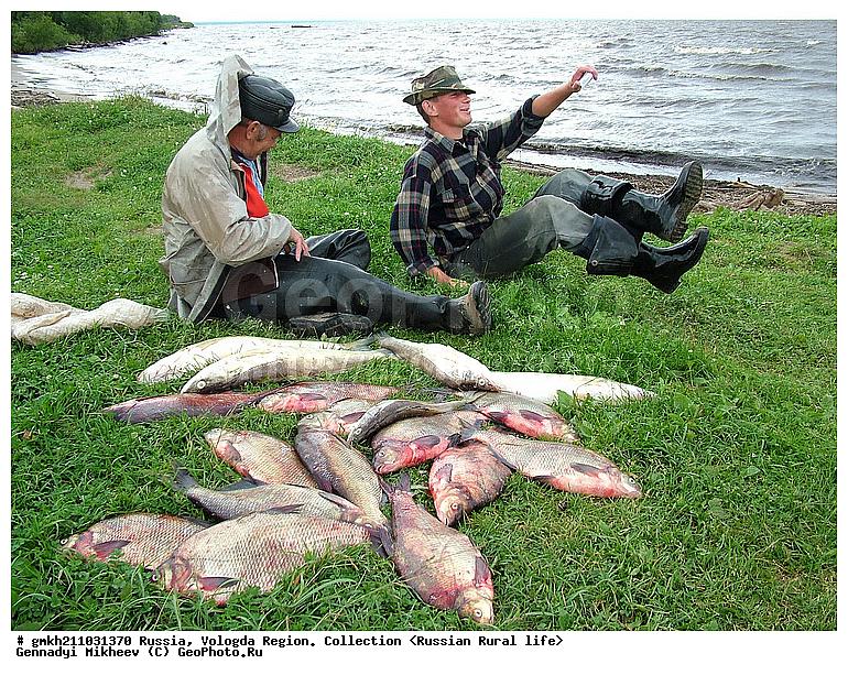 рыбалка бери  озере отно на вологодской области