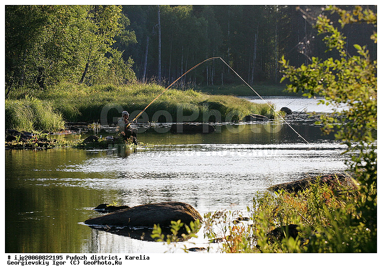 водла река рыбалка