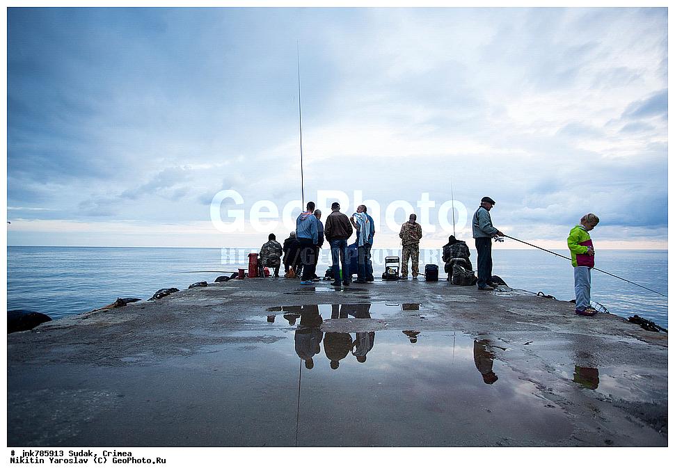 рыбалка в городе судаке крым