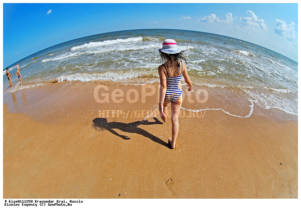 girl beach young Ru
