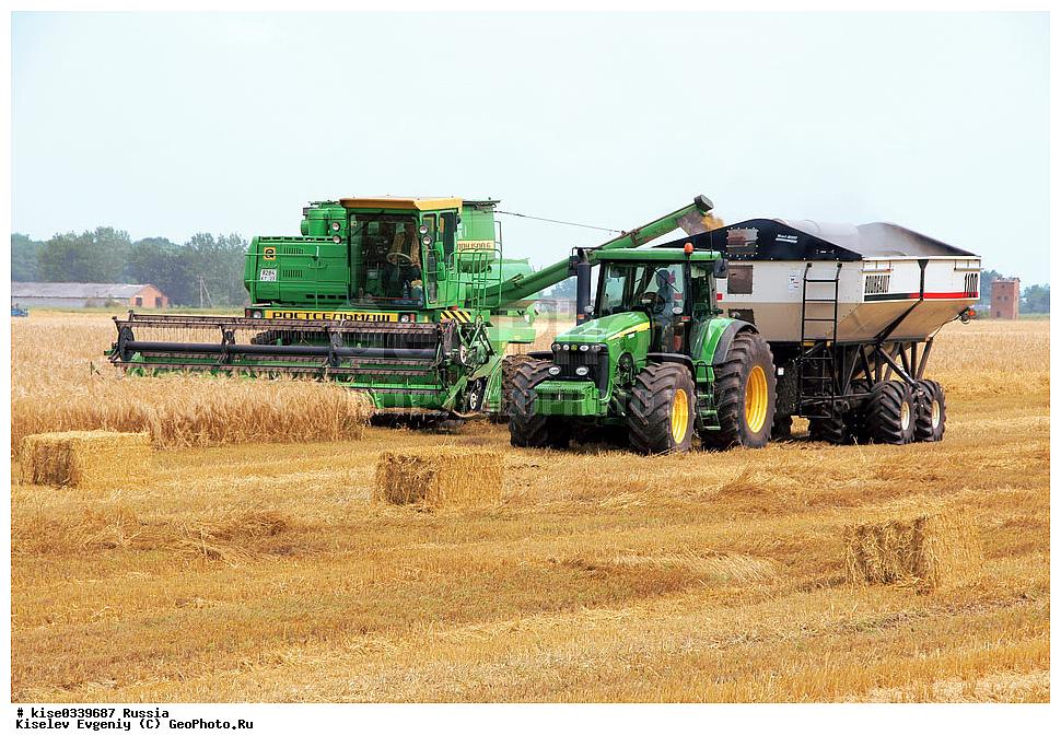 фото уборка урожая зерновых