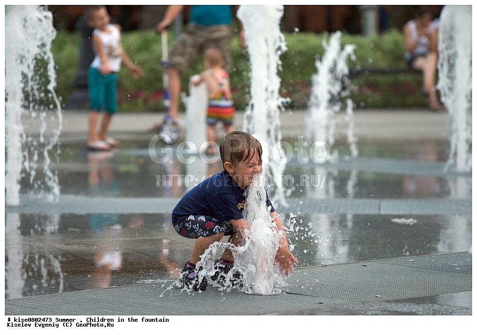 Картинки лето город жара для детей