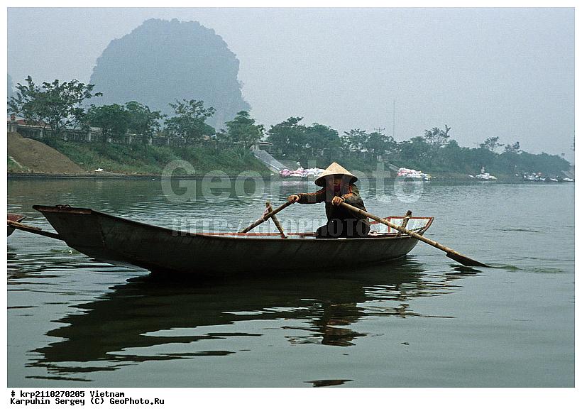 лодки на реках вьетнама