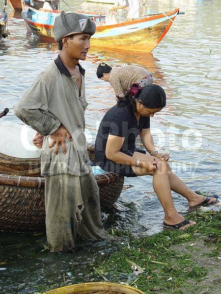 деревня рыбаков нячанг