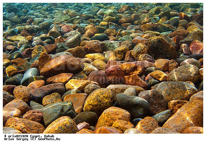Красное море вода камень камни