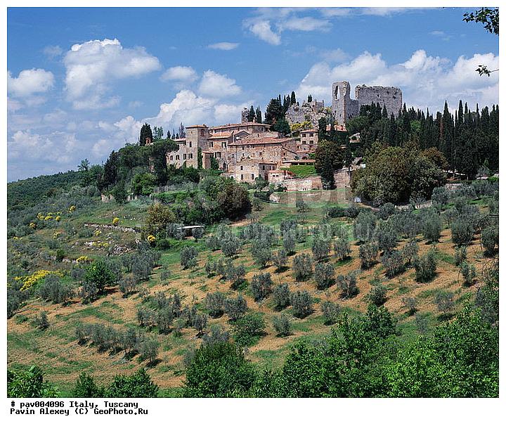 Италия провинция тоскана вид на