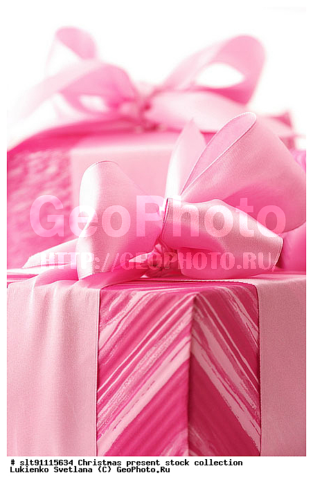Подарок розового оттенка