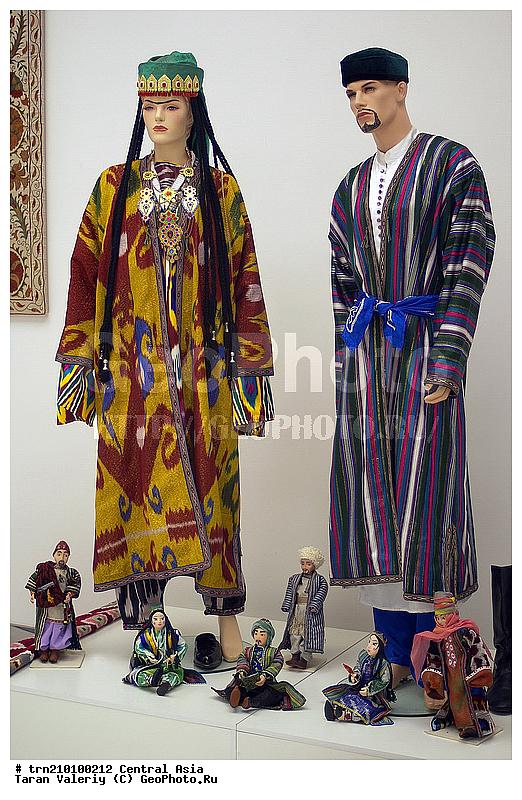 Узбекская современная женская одежда