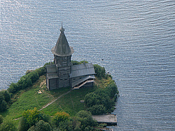 Uspenskaya church, Kondopoga, Karelia