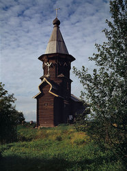 Yspenskaia stave church from village Kondopoga. 1774c