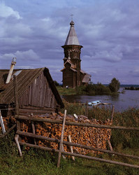 Yspenskaia church from village Kondopoga. 1774г
