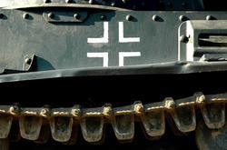 Крест на танке