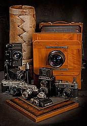 Натюрморты с антикварными фотокамерами Александр Князев, 2012