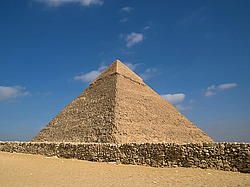 Pyramid of Chephren Гиза, Египет, Африка