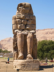 Колоссы Мемнона в городе Луксор (Египет), Colossi of Memnon in Luxor (Egypt)