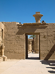 Карнакский храм в городе Луксор (Египет). Karnak Temple Complex in Luxor