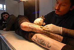 Второй Московский фестиваль татуировки TATTOO EXPO 2008 на ВВЦ