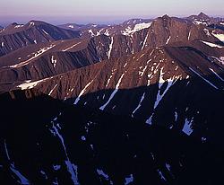 Вид с вершины народная на юго запад