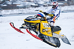 Competitions snowmobiles