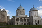 Ivangorod and Narva - the border of Russia and Estonia