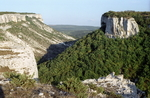 Горы Саблу-Кая и Беш-Кош в окрестностях Бахчисарая, Крым