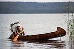 индейская лодка называется